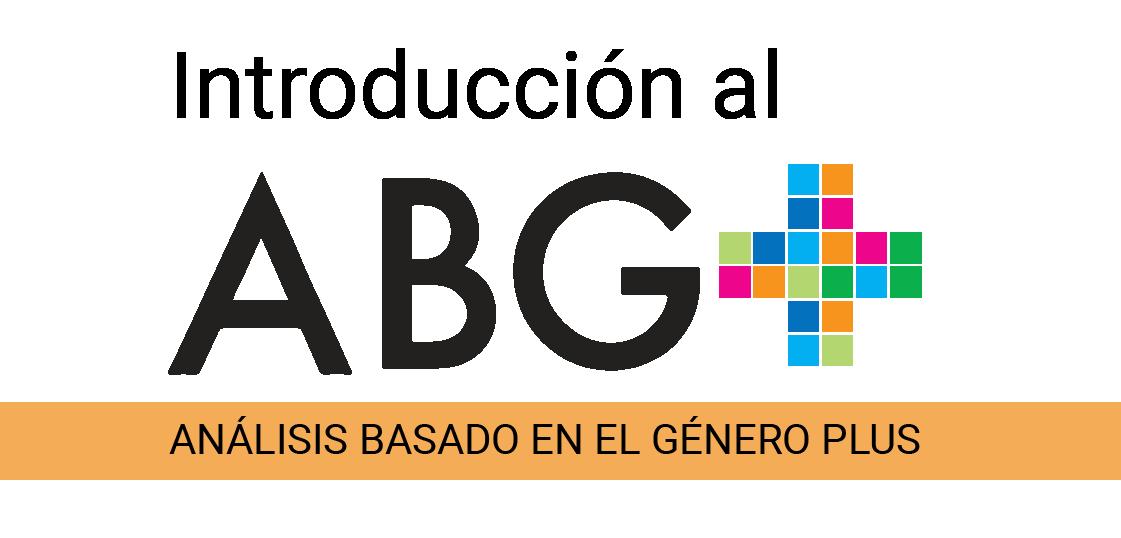 Introducción al Análisis Basado en el Género Plus (ABG+)